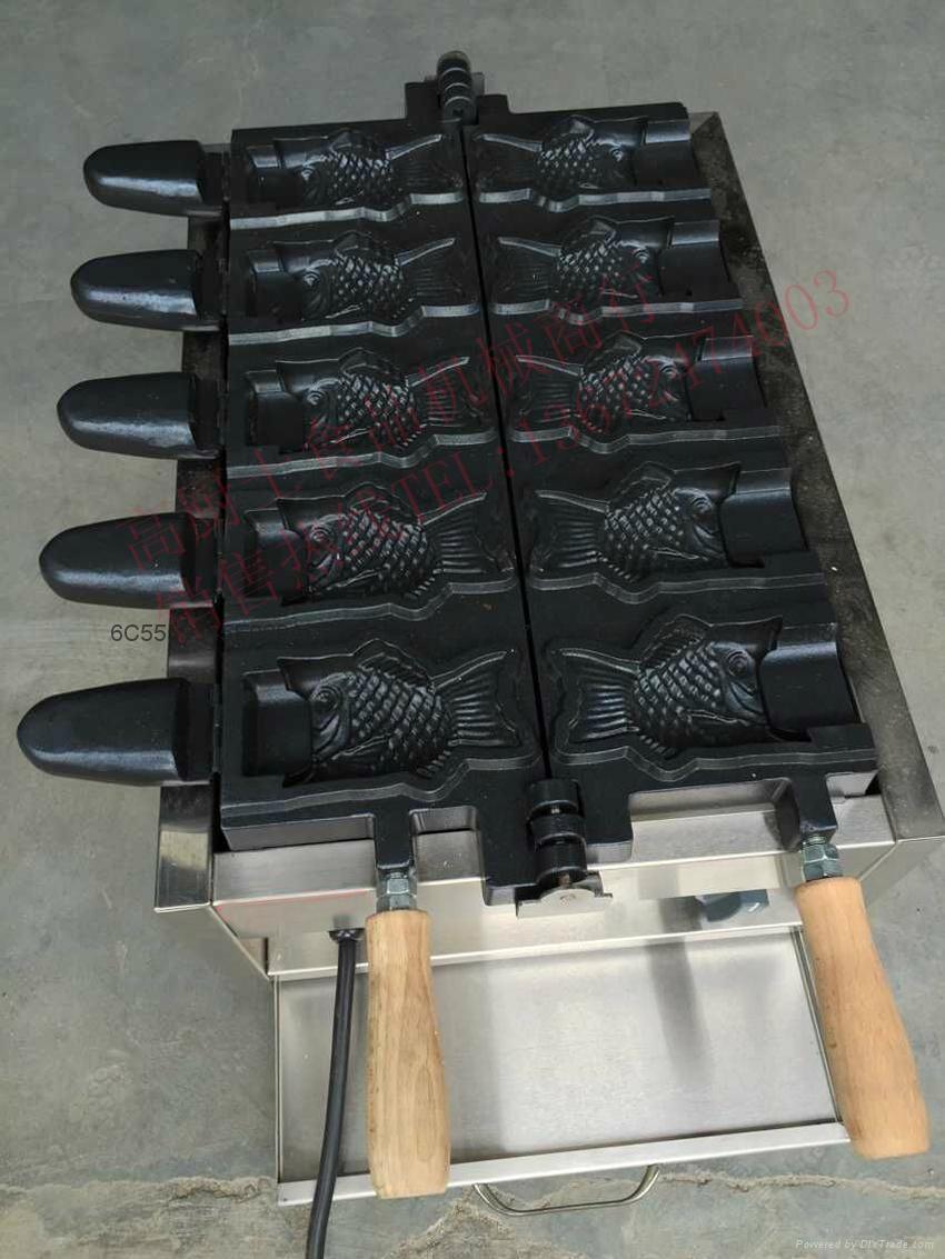 新款220V/110V 电热鲷鱼烧雪糕机/冰淇淋鲷鱼烧机 1