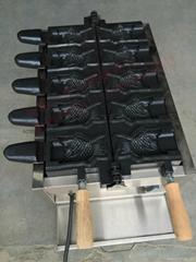 新款220V/110V 电热鲷鱼烧雪糕机/冰淇淋鲷鱼烧机