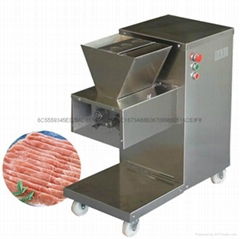 110V 出口美国加拿大切肉机立式切肉片机每小时800KG/HR