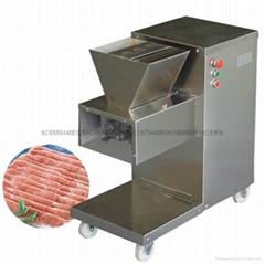 110V 出口美國加拿大切肉機立式切肉片機每小時800KG/