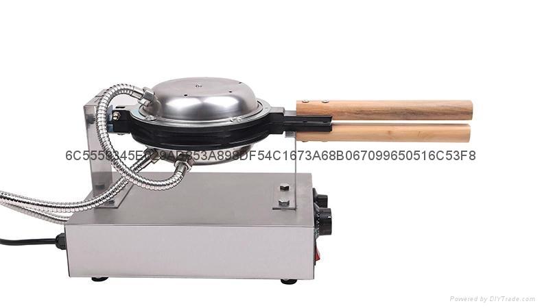 Hot Sale 110v 220v Egg Waffle Maker Egg Puff  Machine 4