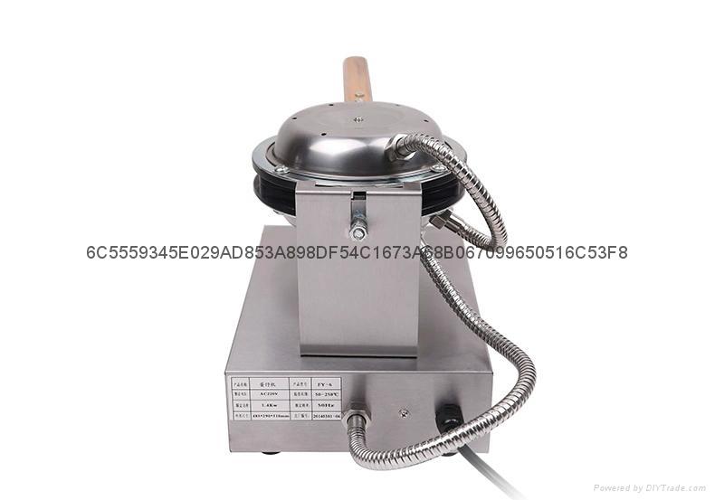Hot Sale 110v 220v Egg Waffle Maker Egg Puff  Machine 2