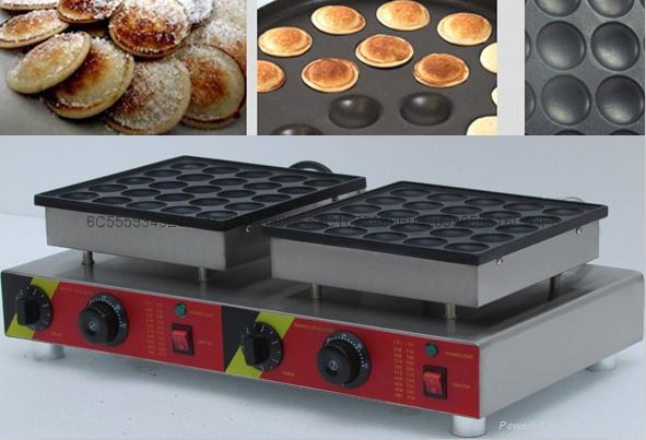 电热110v 220v 50孔小松饼机松饼华夫机 3