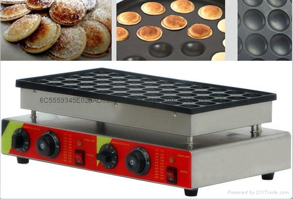 電熱110v 220v 50孔小松餅機松餅華夫機 1