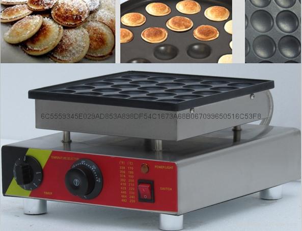 電熱110v 220v 50孔小松餅機松餅華夫機 4