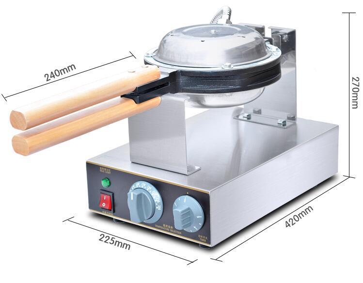 Professional manufacturer For Egg Waffle Maker Egg Puff  Machine 3
