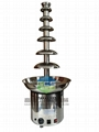 Electric 110v 220v 7 Ters Commercial Chocolate Fountain Machine