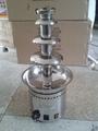 商用全304不鏽鋼四層巧克力噴泉機 出口品質帶CE認証 1