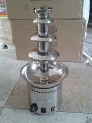 商用全304不鏽鋼四層巧克力噴泉機 出口品質帶CE認証