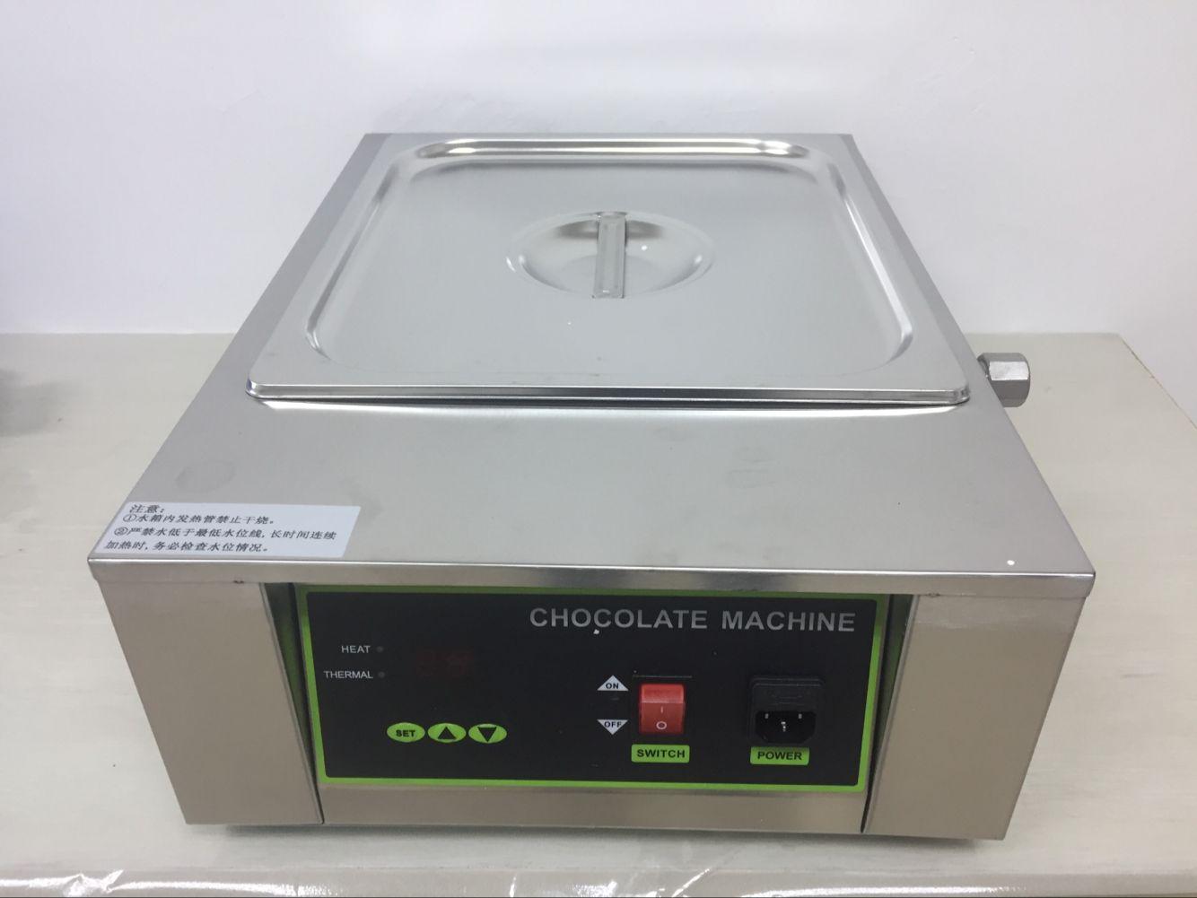 8KG Capacity Chocolate Melting Machine Good quality With CE 1