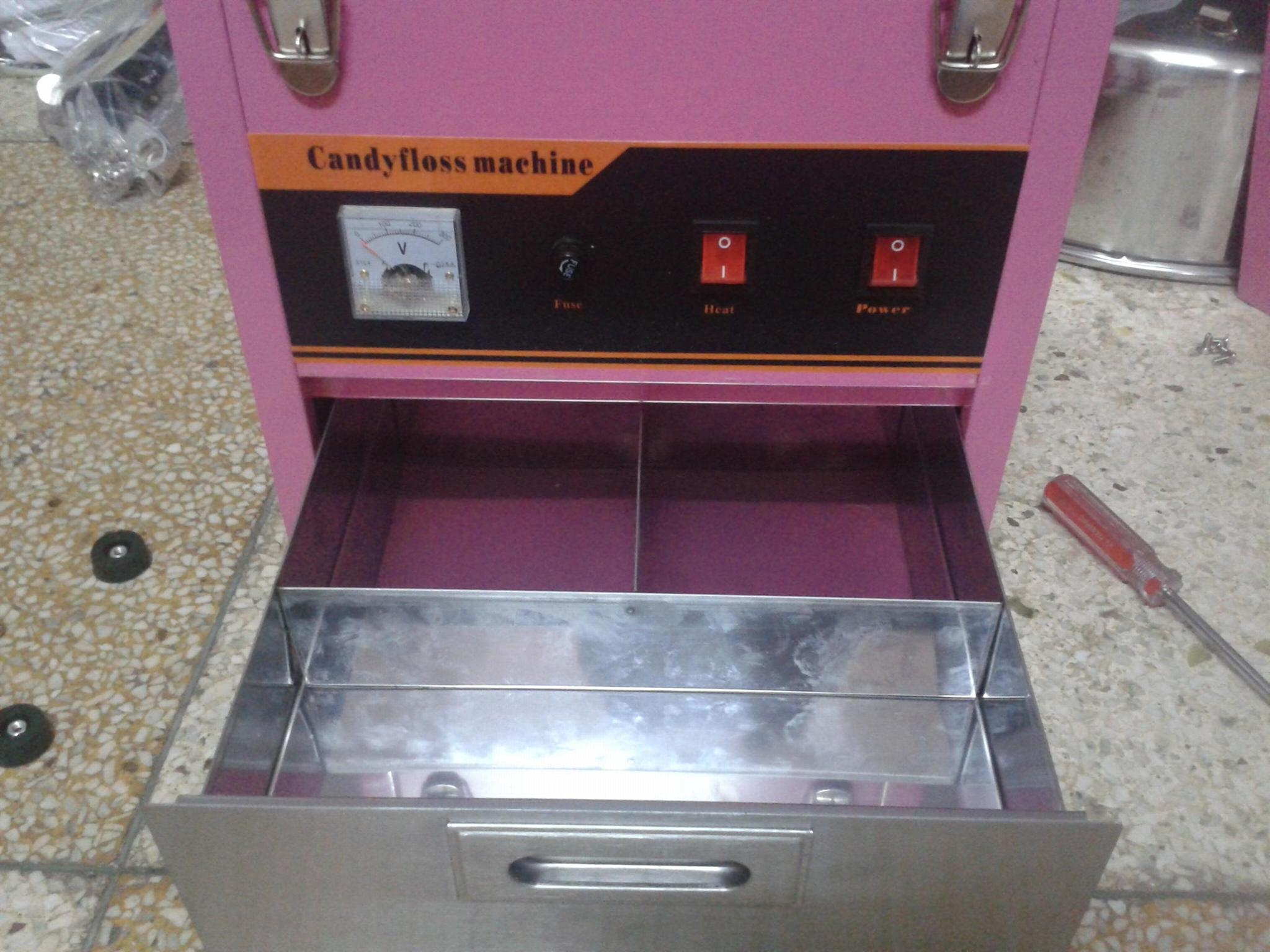220V 商用棉花糖机 彩色棉花糖 4