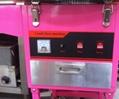220V立式带轮商用棉花糖机棉花机带手推车 3