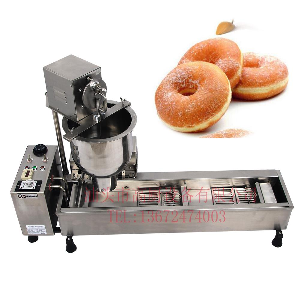 Commercial Full Automatic Donuts Machine 110V 220V 3000W Stainless Steel  1