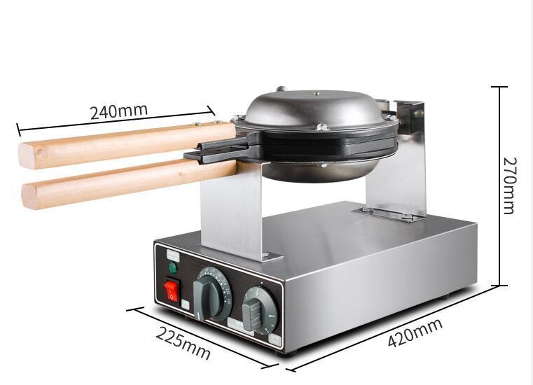 FY-6H 商用电热110v 220v 香港鸡蛋仔机 2