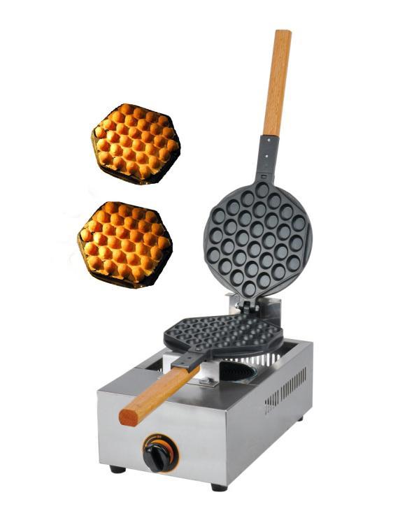 Gas type egg waffle maker. waffle machine, hongkong QQ eggette