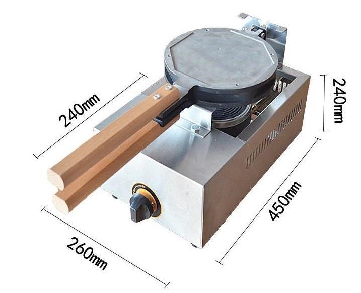Gas type egg waffle maker. waffle machine, hongkong QQ eggette 3