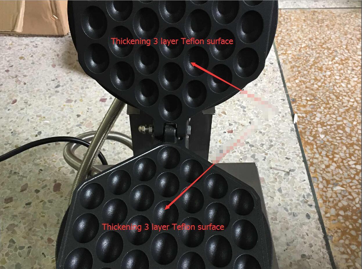 商用微电脑版控制电热鸡蛋仔机蛋饼炉 5