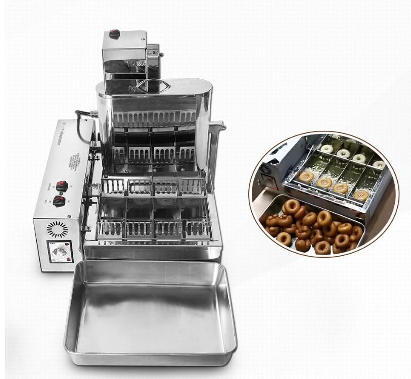 新款4排商用甜甜圈机大产量多拿滋机波提机 3