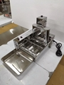 Electric Doughnut Makers Automatic 4 Rows Donut Machine Electric Doughnut fryer 4