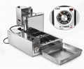 Electric Doughnut Makers Automatic 4 Rows Donut Machine Electric Doughnut fryer 5