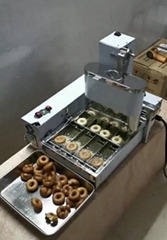 Electric Doughnut Makers Automatic 4 Rows Donut Machine Electric Doughnut fryer