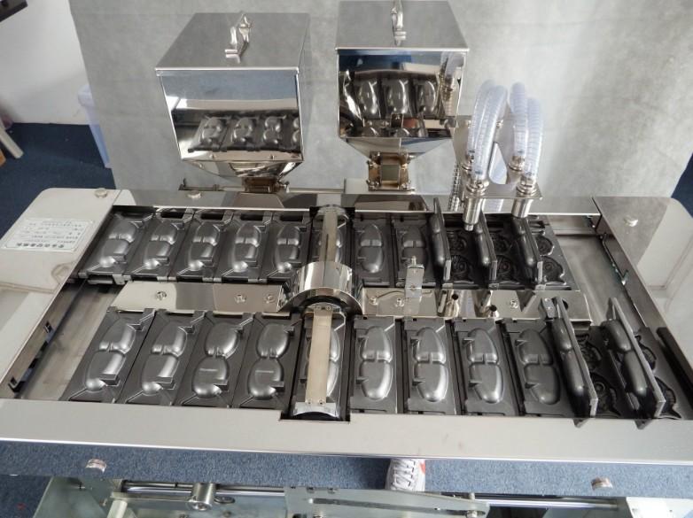 全自动韩国夹心蛋糕机多种模具可更换现烤现卖糕点机 4