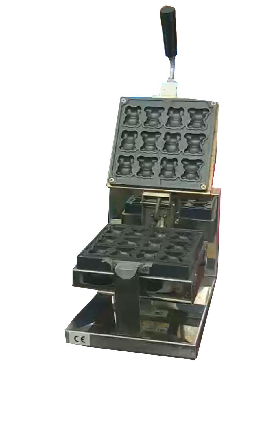 台式电热核桃夹心蛋糕机 2