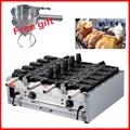 電熱新款10條電熱開口鯛魚燒機