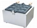 厂家直销!电热韩式小鱼饼机、不粘烤鱼饼机、鱼仔饼 2