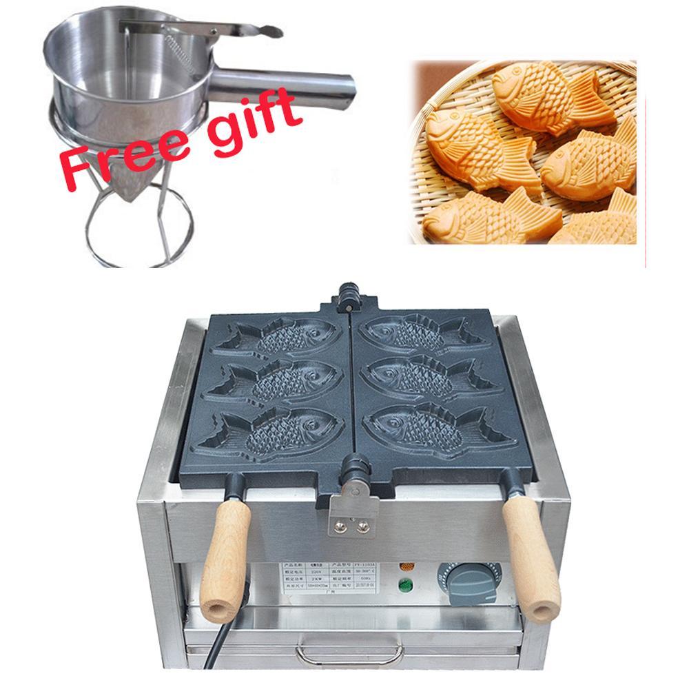 厂家直销!电热韩式小鱼饼机、不粘烤鱼饼机、鱼仔饼 4