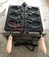 厂家直销!电热韩式小鱼饼机、不粘烤鱼饼机、鱼仔饼 6