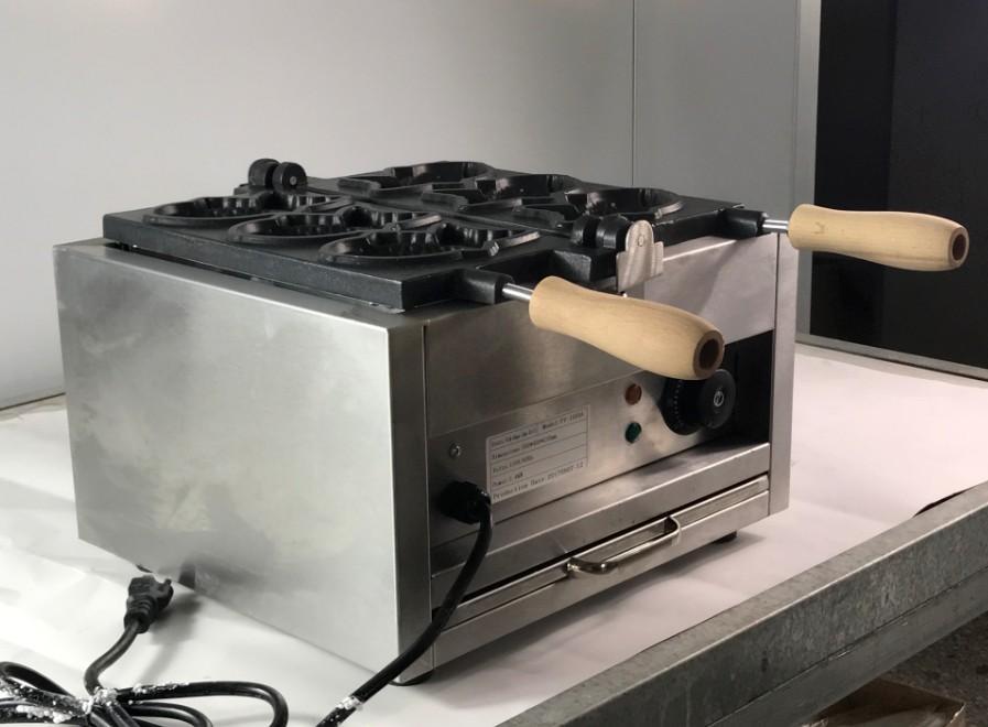 厂家直销!电热韩式小鱼饼机、不粘烤鱼饼机、鱼仔饼 1