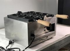 厂家直销!电热韩式小鱼饼机、不粘烤鱼饼机、鱼仔饼