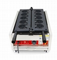 Electric 110v 220-240v Ce Approved Dog Head Shape Taiyaki Machine on Hot Sales