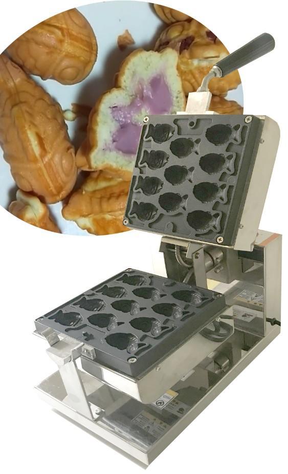 110v 220v Mini Taiyaki Maker Machine Goldfish Waffle maker 11 pcs / plate 1