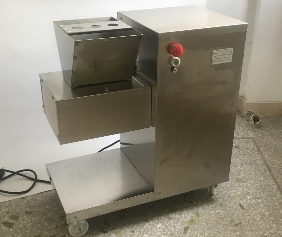 110V 出口美國加拿大切肉機立式切肉片機每小時800KG/HR 2