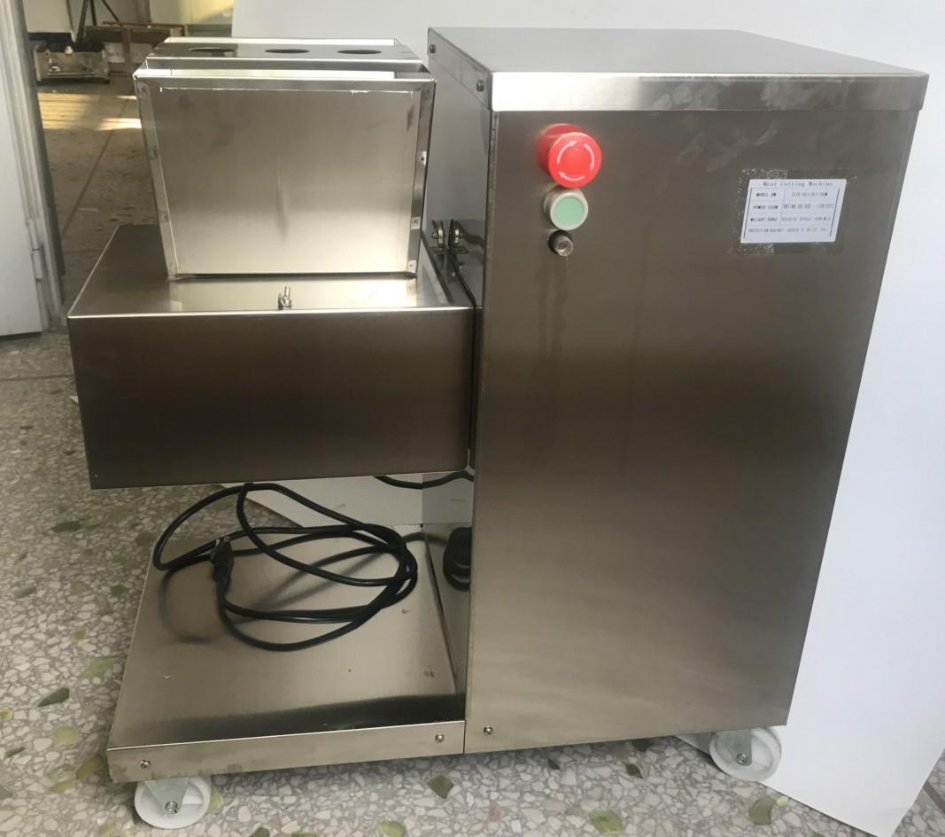 110V 出口美國加拿大切肉機立式切肉片機每小時800KG/HR 4