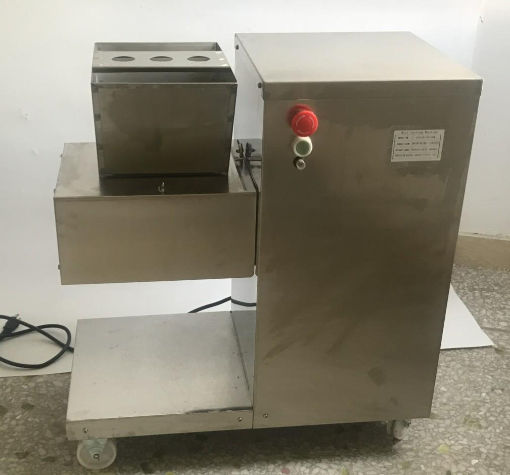 110V 出口美國加拿大切肉機立式切肉片機每小時800KG/HR 6