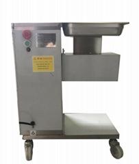 110v 220v 出口美国餐馆切肉片机立式带轮电动切肉机切叉烧机