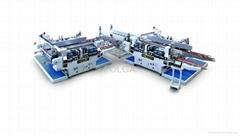 玻璃直線雙邊磨邊機高速生產線