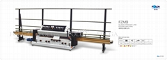 glass automatic vertical edging machine