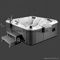 Acrylic Material and Combo Massage (Air & Whirlpool) massage bathtu 2
