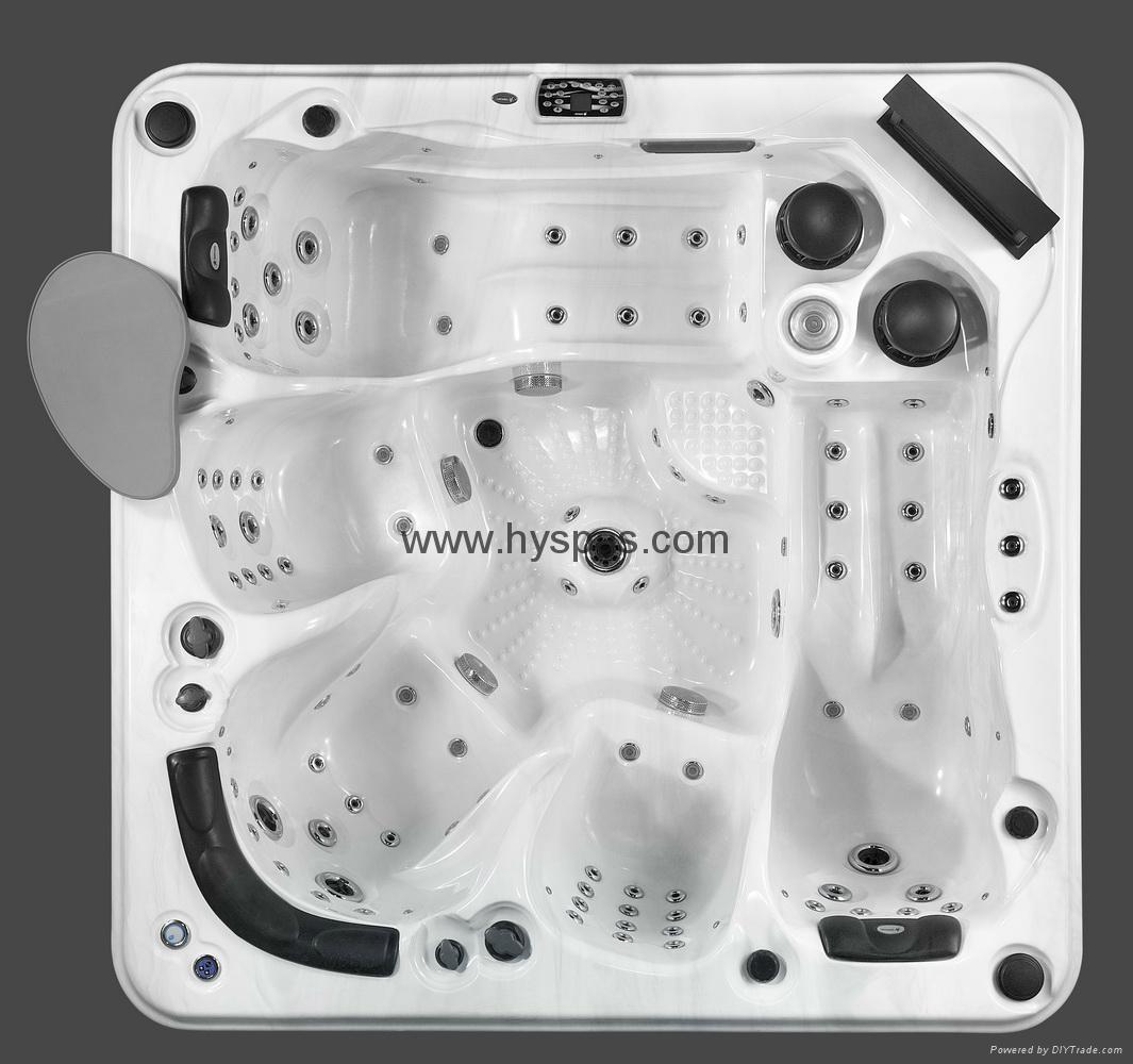 Acrylic Material and Combo Massage (Air & Whirlpool) massage bathtu 5