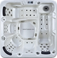 Center Drain Location and Massage Function spa whirlpool portable bathtub 2