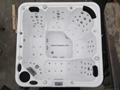Center Drain Location and Massage Function spa whirlpool portable bathtub 4