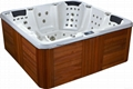 Center Drain Location and Massage Function spa whirlpool portable bathtub 5