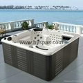Hot sale Outdoor pool spa sex massage above ground plastic swimming pool 1