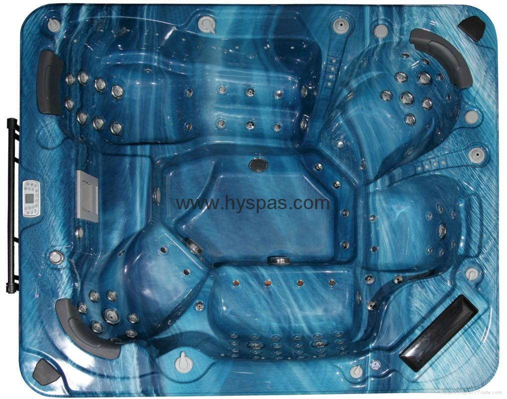 Hot sale Outdoor pool spa sex massage above ground plastic swimming pool 4