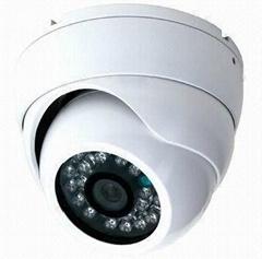 1/3''  800TVL Effio-A IR CCD Dome Camera