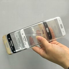 3D curved edge tempered glass screen protector for S7 edge